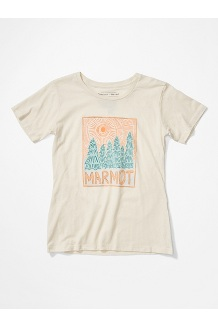 Women's Woodblock Short-Sleeve T-Shirt, Turtledove Heather, medium