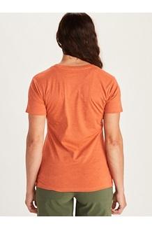 Women's Woodblock Short-Sleeve T-Shirt, Charcoal Heather, medium