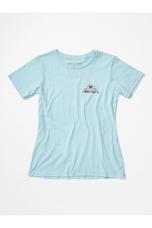 Women's Arrow Short-Sleeve T-Shirt, Corydalis Blue Heather, medium