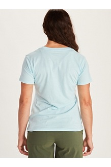 Women's Arrow Short-Sleeve T-Shirt, Charcoal Heather, medium