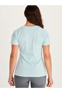 Women's Ascender Short-Sleeve T-Shirt, Corydalis Blue Heather, medium