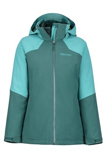 Women's Featherless Component Jacket, Mallard Green/Meadowbrook, medium