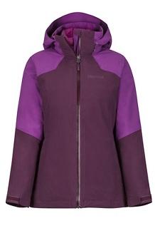 Women's Featherless Component Jacket, Dark Purple/Grape, medium