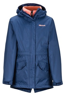 Girls' Precip Eco Component 3-in-1 Jacket, Arctic Navy, medium