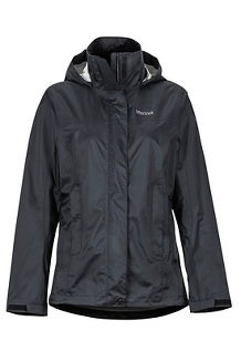 Women's PreCip Eco Jacket, Black, medium