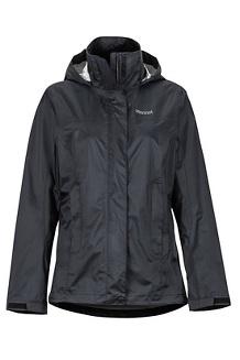 Women's PreCip Eco Jacket, Black, medium