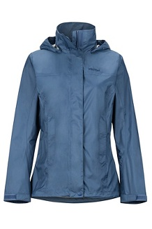 Women's PreCip Eco Jacket, Storm, medium
