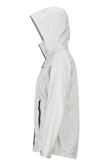 Women's PreCip Eco Jacket, Platinum, medium