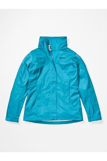 Women's PreCip Eco Jacket, Enamel Blue, medium