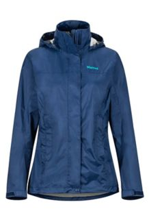 Women's PreCip Eco Jacket, Arctic Navy, medium