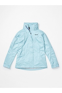 Women's PreCip Eco Jacket, Corydalis Blue, medium