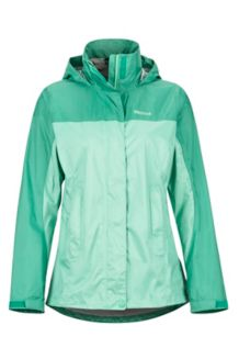 Women's PreCip Eco Jacket, Double Mint/Verde, medium