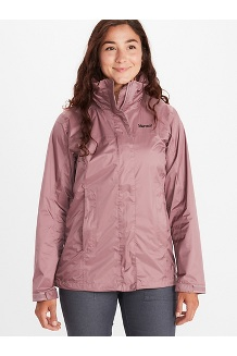 Women's PreCip Eco Jacket, Dry Rose, medium