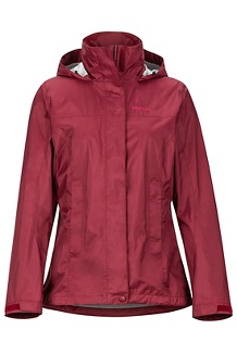 Women's PreCip Eco Jacket, Claret, medium
