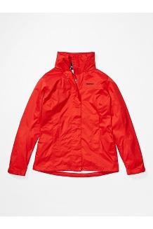 Women's PreCip Eco Jacket, Victory Red, medium