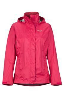 Women's PreCip Eco Jacket, Disco Pink, medium