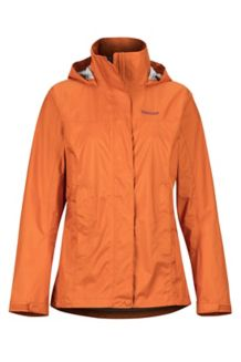 Women's PreCip Eco Jacket, Bonfire, medium