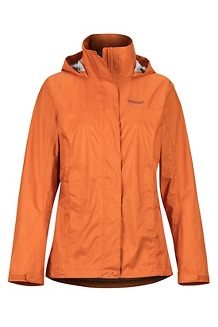 Women's PreCip Eco Jacket, Bonfire, medium