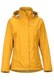 Women's PreCip Eco Jacket, Yellow Gold, medium