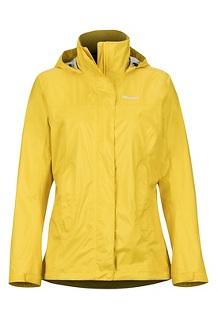 Women's PreCip Eco Jacket, Sunny, medium