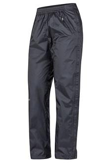 Women's PreCip Eco Full-Zip Pants - Short, Black, medium