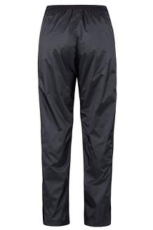 Women's PreCip Eco Full-Zip Pants, Black, medium