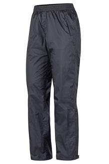 Women's PreCip Eco Pants - Long, Black, medium