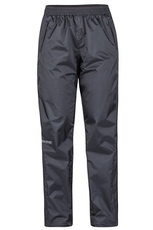 Women's PreCip Eco Pants - Short, Black, medium