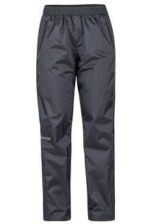 Women's PreCip Eco Pants - Short, Black, medium