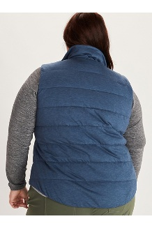 Women's Visita Insulated Vest Plus, Arctic Navy Heather, medium