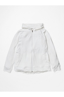 Women's Tomales Point Hoody Plus, White, medium