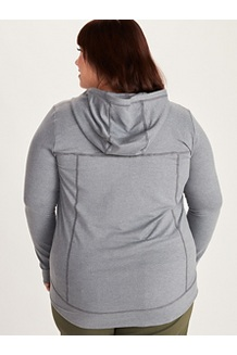 Women's Tomales Point Hoody Plus, Steel Onyx Heather, medium