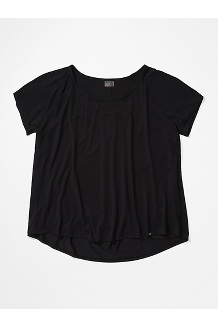 Women's Neaera Short-Sleeve Shirt Plus, Black, medium