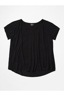 Women's Neaera Short-Sleeve Shirt Plus, Black, medium