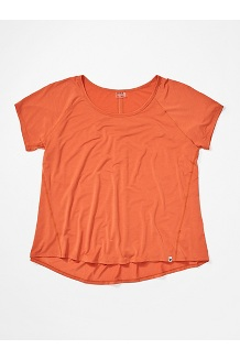 Women's Neaera Short-Sleeve Shirt Plus, Amber, medium