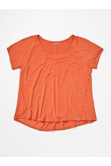 Women's Neaera Short-Sleeve Shirt Plus, Amber, medium