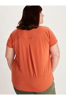 Women's Neaera Short-Sleeve Shirt Plus, White, medium