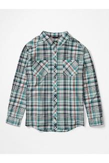 Women's Aella Long-Sleeve Shirt Plus, Deep Jungle, medium