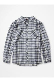 Women's Aella Long-Sleeve Shirt Plus, Sleet, medium