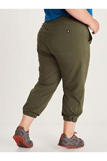 Women's Avision Jogger Pants Plus, Black, medium