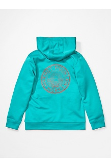 Girls' Whitney Hoody, Ceramic Blue, medium
