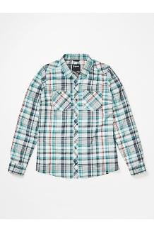 Women's Aella Long-Sleeve Shirt, Deep Jungle, medium