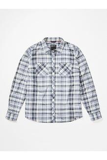 Women's Aella Long-Sleeve Shirt, Sleet, medium