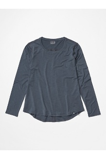 Women's Calavera Long-Sleeve Shirt, Steel Onyx, medium