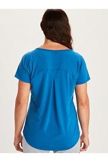 Women's Neaera Short-Sleeve Shirt, Amber, medium