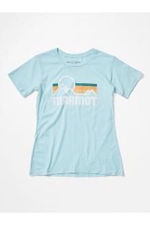 Women's Coastal Short-Sleeve T-Shirt, Corydalis Blue Heather, medium