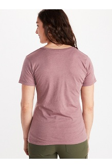 Women's Coastal Short-Sleeve T-Shirt, Corydalis Blue Heather, medium