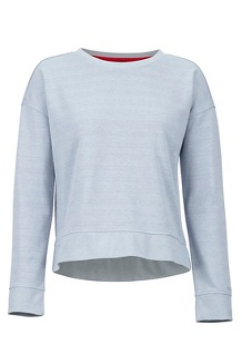 Women's Westview Crew Neck Sweatshirt, Grey Storm Heather, medium