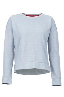 Women's Westview Crew Neck Sweatshirt, Grey Storm Heather, medium