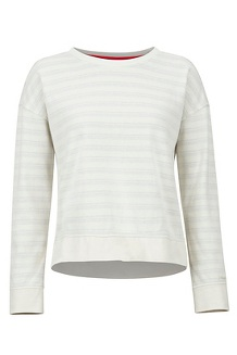 Women's Westview Crew Neck Sweatshirt, Turtledove Heather, medium